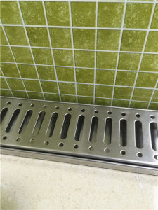 Convenient Stainless Steel Shower Linear Floor Drain (CY-28) pictures & photos