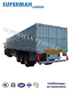 40ft 3 Axle Compartment Box Cargo Truck Van Semi Trailer pictures & photos