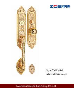 Long and Shor Panel Zinc Alloy Villa Lock (Y-883-S-A)