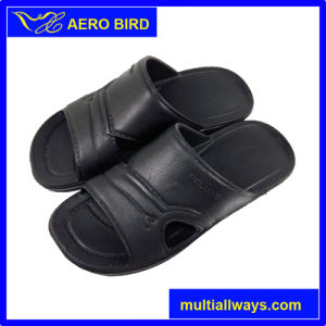 2016 High Quality Soft Open Toe Men EVA Slipper pictures & photos