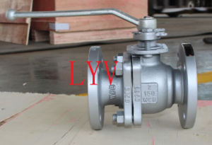 Forged Flanged End Stainless Steel Ball Valve pictures & photos