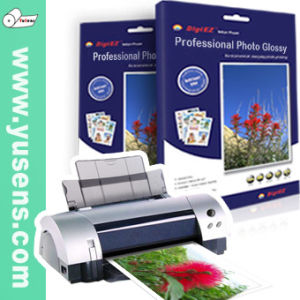 260GSM RC PE Coated Glossy A4 Inkjet Printing Photo Paper pictures & photos