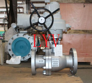 Top Entry Flanged Trunion Ball Valve pictures & photos