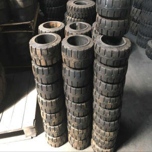 Top Seller Good Price Forklift Skid Steer Solid Tire 4.00-8. pictures & photos