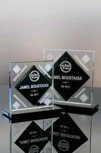 Geometric Glass Award (#02-86, #02-87) pictures & photos