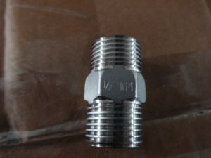 Stainless Steel CF8/CF8m Hex. Nipple pictures & photos