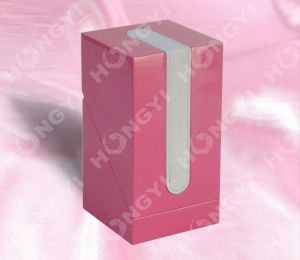 Pink Lacquered Wooden Box for Perfume/Watch/Gift/Jewelry