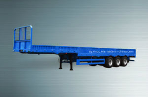 Specail Transport Truck Tailgate Style Semi Trailer