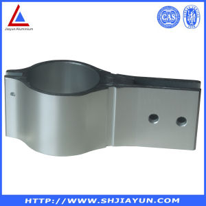 Silver Anodized Aluminum Extrusion Profile with ISO RoHS Certificates pictures & photos