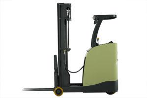 Un 2.5t 1500kg Stand-on Reach Truck with Triplex 8.0m Mast (FBR25-AZ1) pictures & photos