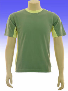 Running Wicking Quick Dry Short Sleeve Round Neck T-Shirt pictures & photos