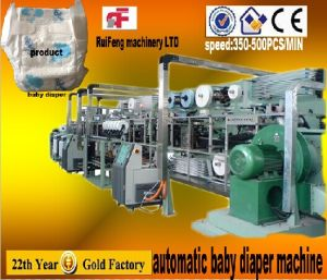RF-Nkc Full Servo Automatic Baby Diaper Manufacturing Machine