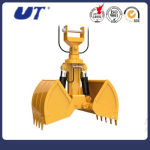 Mini Excavator Hydraulic Clamshell Grab Bucket pictures & photos