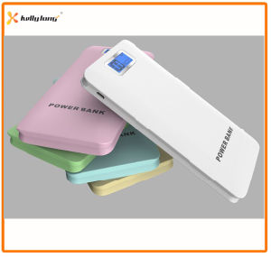 High Capacity Three Output 12000mAh Real Capacity Power Bank with LCD Display pictures & photos