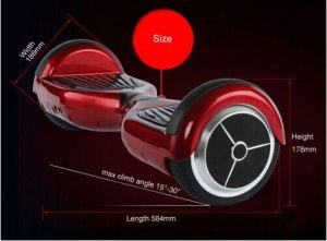 Kebe Factory Supply 6.5/8/10 Inch 2 Wheel Self Balance Scooter Airboards pictures & photos