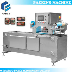 Automatic Beancurd Tray Sealing Packing Machine for Cup (VC-1) pictures & photos