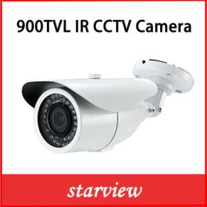 900tvl CMOS Varifocal Waterproof IR CCTV Security Camera (W16) pictures & photos