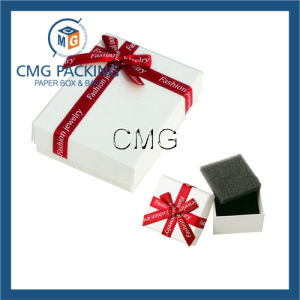 White Jewelry Box with Divider (CMG-PGB-022) pictures & photos
