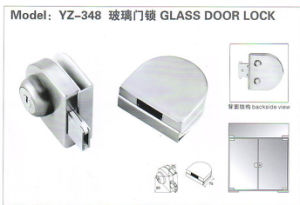 Yz-208 Stainless Steel, Zinc Alloy Glass Door Lock pictures & photos