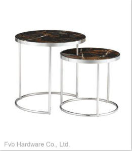 Set of Stainless Steel &Round Coffee Table pictures & photos