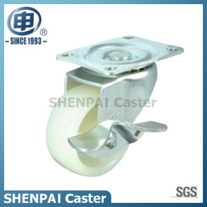 "2.5""Micro Duty PP Swivel Locking Caster Wheel pictures & photos"