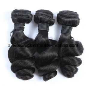 Loose Wave Peruvian Natural Virgin Hair Extension pictures & photos