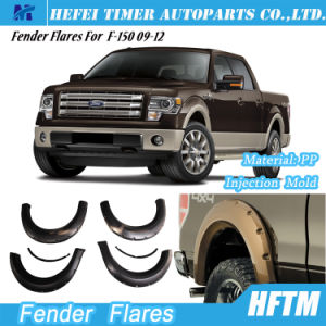 for Ford F-150 09-12 Injection Mold PP Material Fender Flares pictures & photos