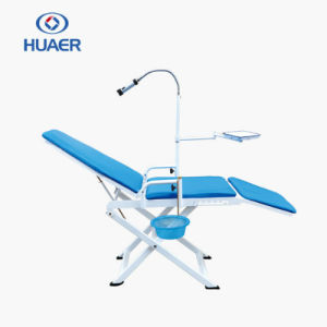 Portable Dental Chair with Operation Light pictures & photos