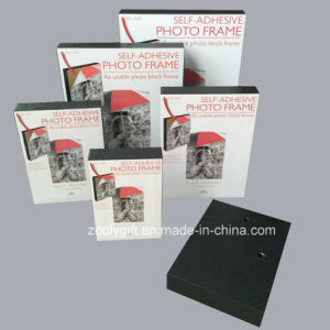 A4 / 8X10 /6X8 / 5X7 / 4X6 Self-Adhesive Photo Frame Re-Usable Photo Block Frame pictures & photos