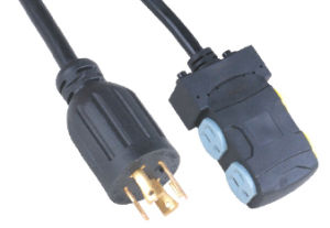 UL AC Power Cord for Use in North American 520-a pictures & photos