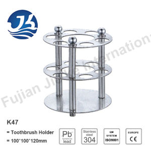 High Quality Stainless Steel Bathroom Hardware Toothbrush Holder K47
