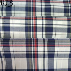 100% Cotton Poplin Woven Yarn Dyed Fabric for Shirts/Dress Rls60-7po pictures & photos