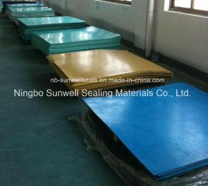 Mineral Fiber Rubber Sheet Oil-Resisting Non-Asbestos Sheet, 100% Non Asbestos Sheet Gaskets (SUNWELL) pictures & photos