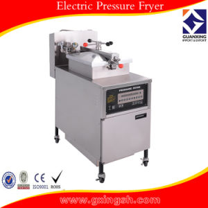 Gas Pressure Fryer with Oil Filteration System Pfg-600 pictures & photos