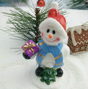 100% Paraffin Wax Snowman Candle pictures & photos