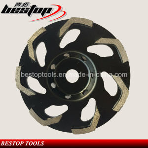 Segmented Diamond Grinding Cup Wheel for Fine Grinding Concrete pictures & photos