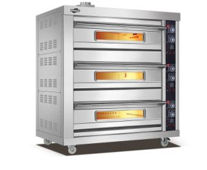 3 Deck 6 Tray Gas Food Oven (306Q) pictures & photos