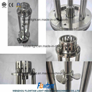 Inox Chemical Liquid High Shear Mixer Homogenizer Emulsifier pictures & photos
