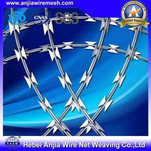 CE and SGS Marks Galvanized Razor Wire Barbed Wire pictures & photos