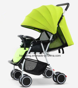 High Viewpoint Landscape Baby Stroller with Adjustable Sunshade pictures & photos