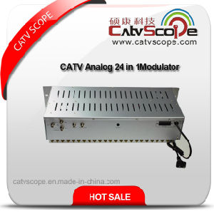 CATV Analog 24 in 1 Fixed Adjacent Channel Combiner Modulator pictures & photos