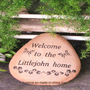 Creative Engraved Stone in Garden pictures & photos