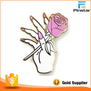 Beautifull Flower on Your Chest, Delicate Metal Lapel Pin Badge, Factory Direct Sale pictures & photos