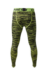 Compression Fitness Men′s Gym Wear Pants pictures & photos