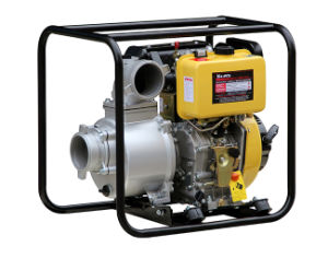 4 Inch Diesel Water Pump Electric Start Yellow Color (DP40E) pictures & photos