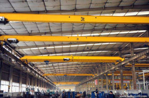Single Beam Electric Hoist Bridge Crane 16 Ton pictures & photos