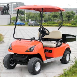 Marshell Electric Utility Windshield Golf Cart with Rear Box (DU-G2) pictures & photos