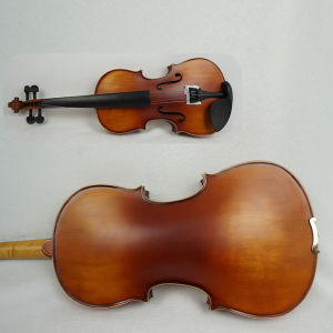 Purflied Inlaid Dark Red Brown Solid General Grade Violin Outfits pictures & photos