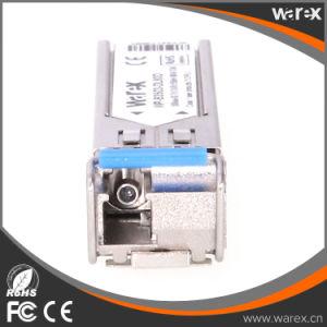 Premium 100Base-BX 1310nm Tx/1550nm Rx 80km SFP BIDI Transceiver pictures & photos