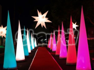 Hot-Selling Inflatable Lighting Cone Chad602 pictures & photos